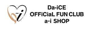 Da-iCE OFFiCiaL FUN CLUB a-i SHOP