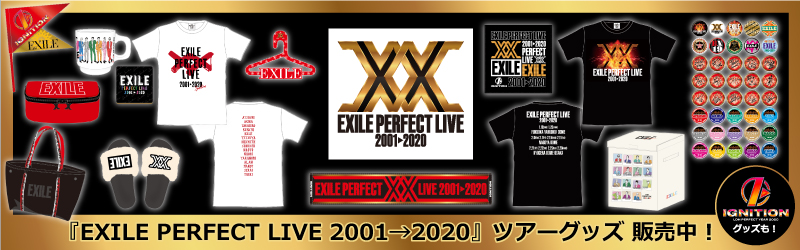 EXILE PERFECT LIVE 2001→2020グッズ