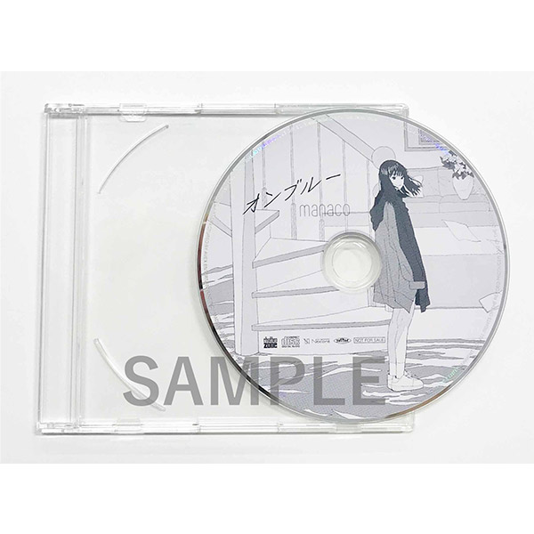 ラジオ番組風音声付きオリジナルデモ音源CD