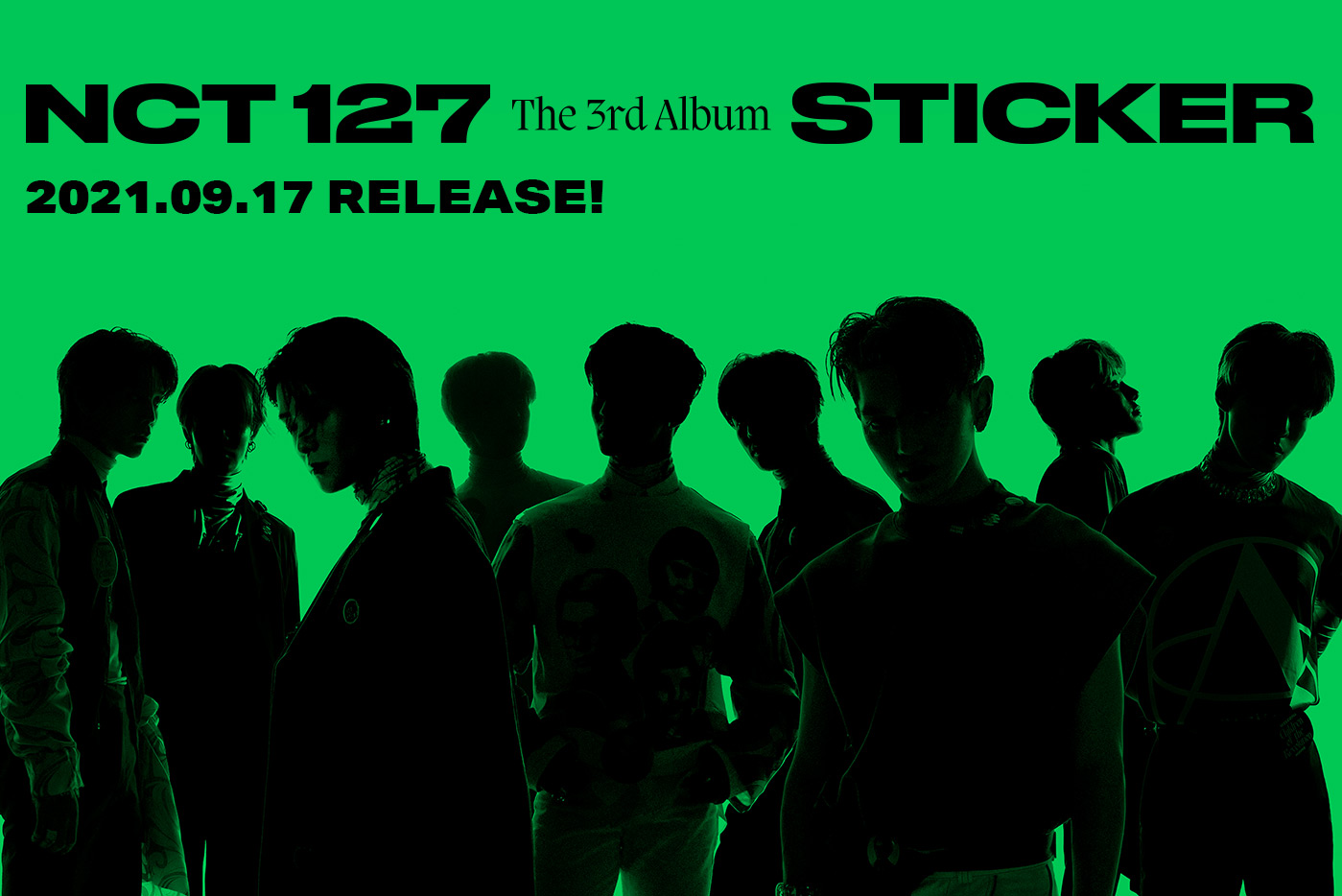 NCT 127 The 3rd Album-'Sticker' 2021.09.17 RELEASE!