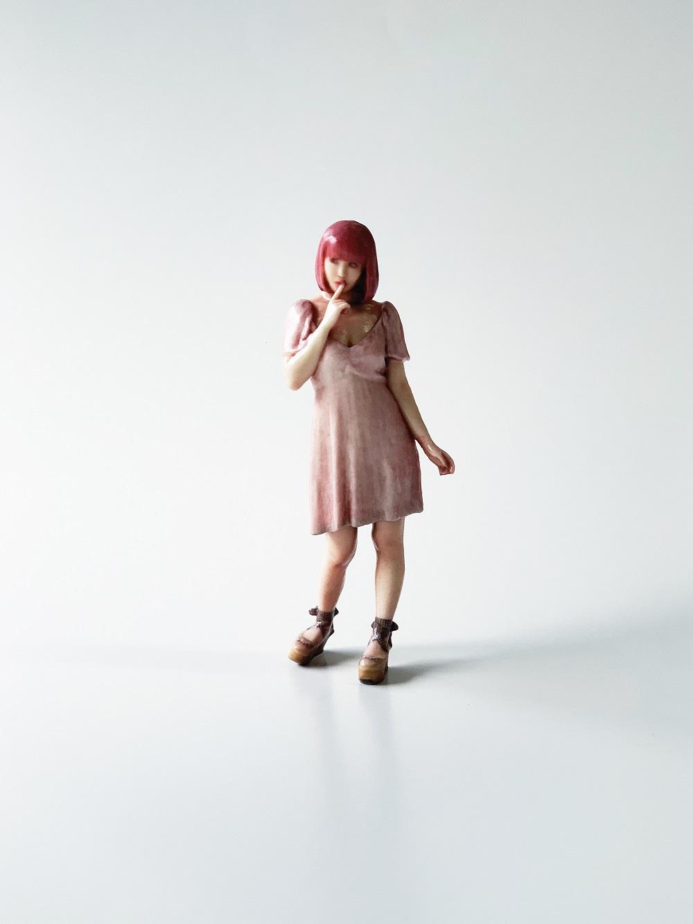 ⑦ ピンクベロアみゅうみゅう靖子ちゃん