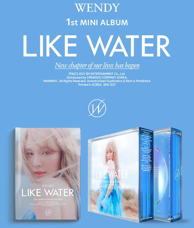 WENDY(Red Velvet)1st MINI ALBUM 『Like Water 』