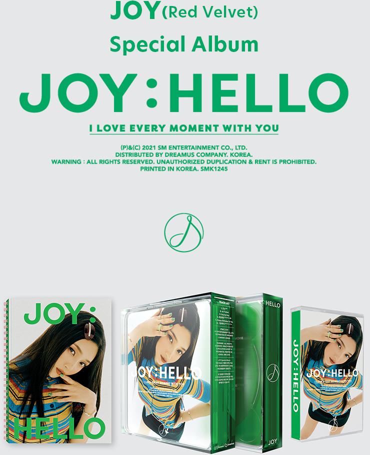 JOY(Red Velvet)Special Album『Hello』