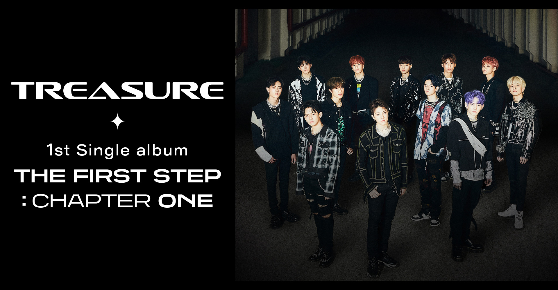 TREASURE 1st Single album [THE FIRST STEP : CHAPTER ONE] 2020.08.11 RELEASE