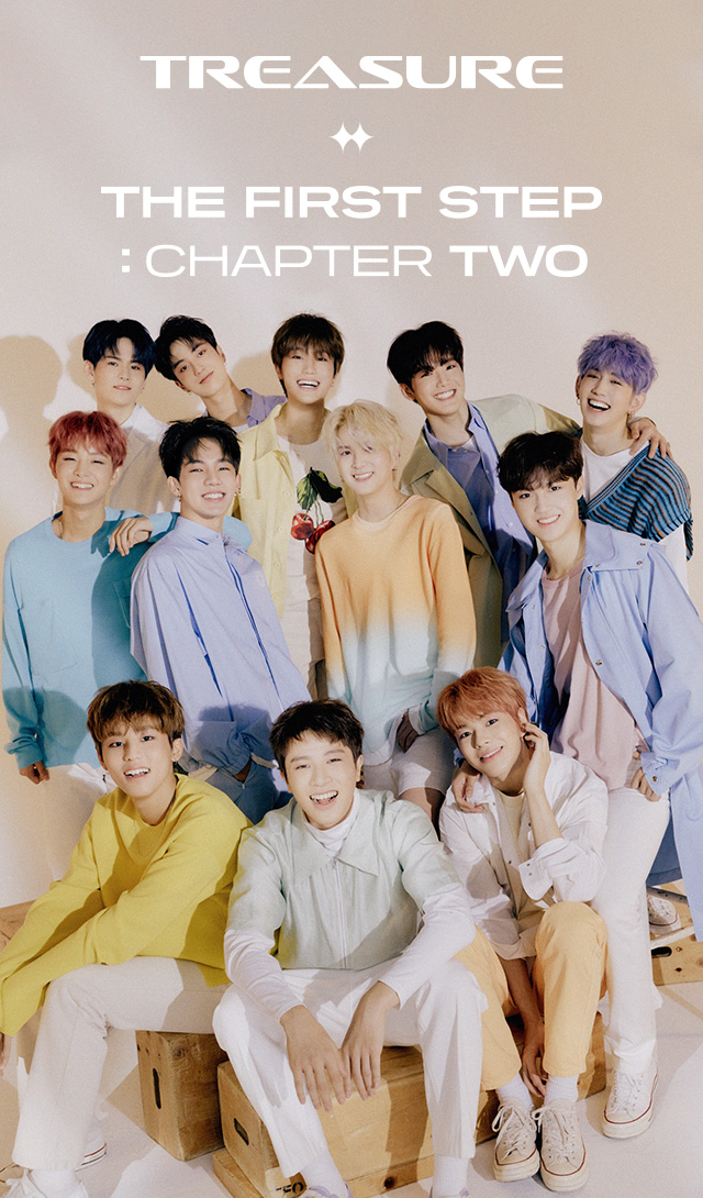 TREASURE 2nd Single「THE FIRST STEP : CHAPTER TWO」 2020.09.22 RELEASE
