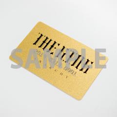 ゴールドシリアルナンバーカード