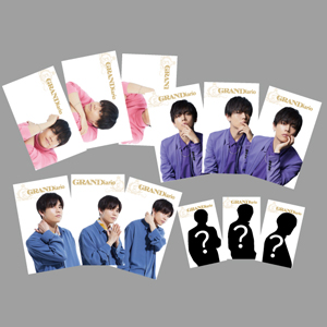 全12種のカードがランダムで各セット1枚