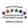 ayumi hamasaki COUNTDOWN LIVE 2019-2020 ~Promised Land~ Aグッズ特集