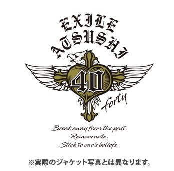 "<span class=""list-recommend__label"">予約</span>EXILE ATSUSHI『40 ~forty~』"
