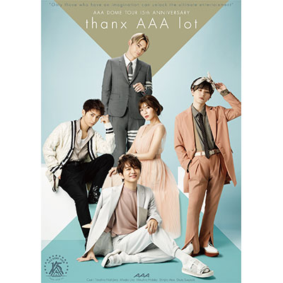 """<span class=""""list-recommend__label"""" style=""""color:#ffffff;background:#ff0000;border-color:#ff0000;font-weight:bold;"""">オリ特</span> AAA DOME TOUR 15th ANNIVERSARY -thanx AAA lot- / AAA ARCHIVE SERIES 通年GOODS"""